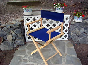 SOLID WOOD DIRECTOR'S CHAIR - Product Image