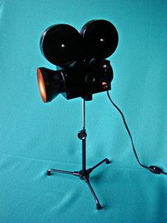 movie camera desk lamp cinema adjustable height | eBay