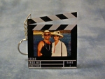 CLAPBOARD PHOTO KEY CHAIN - Product Image