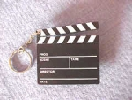 CLAPBOARD KEY CHAIN - Product Image