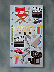 HOLLYWOOD MOVIE STICKERS - Product Image